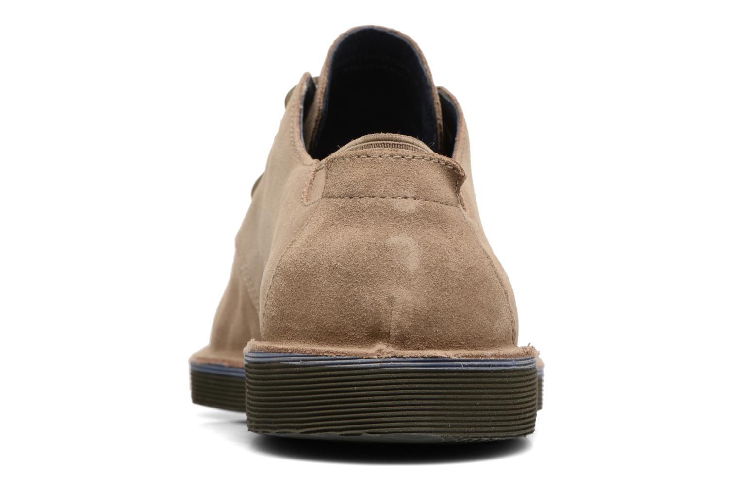 Lace-up shoes Camper Morrys K100057 Beige view from the right