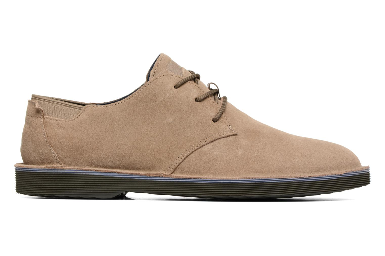 Lace-up shoes Camper Morrys K100057 Beige back view