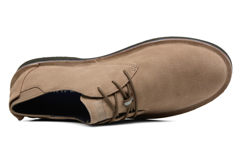 Chaussures à lacets Camper Morrys K100057 Beige vue gauche
