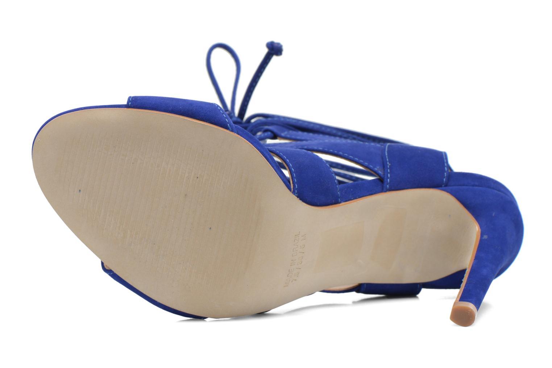 SANDALIA Blue nubuck
