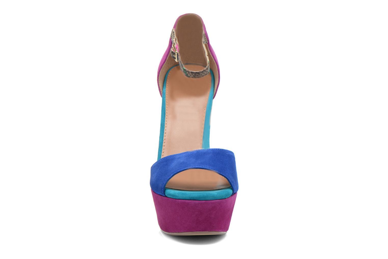 Sandalen Steve Madden MYRAA mehrfarbig schuhe getragen