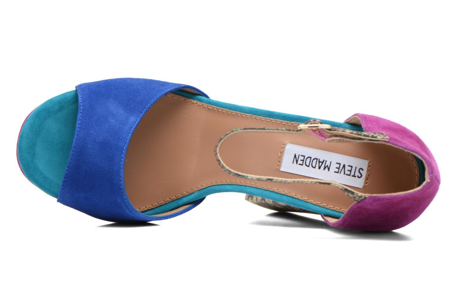 Sandals Steve Madden MYRAA Multicolor view from the left