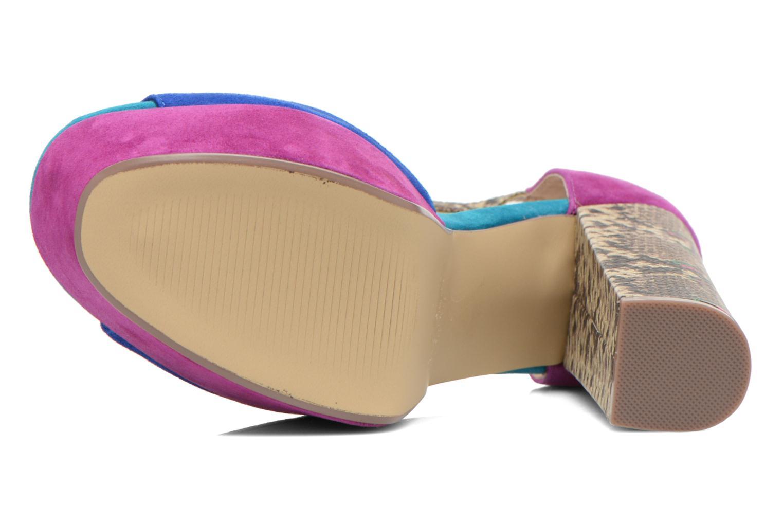 Sandales et nu-pieds Steve Madden MYRAA Multicolore vue haut