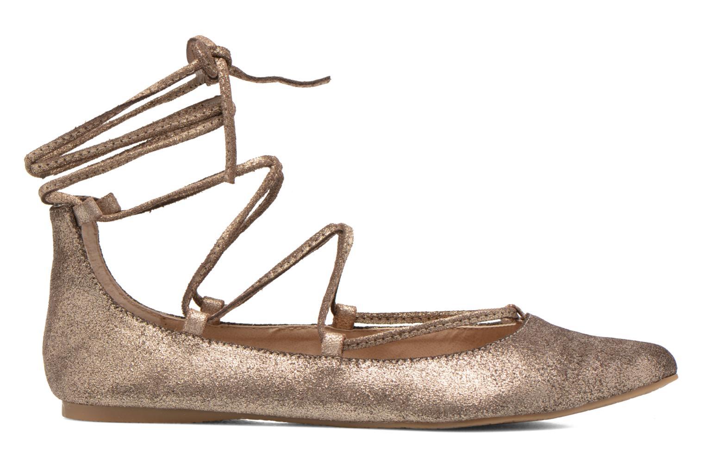 Ballet pumps Steve Madden ELEANORR Bronze and Gold back view