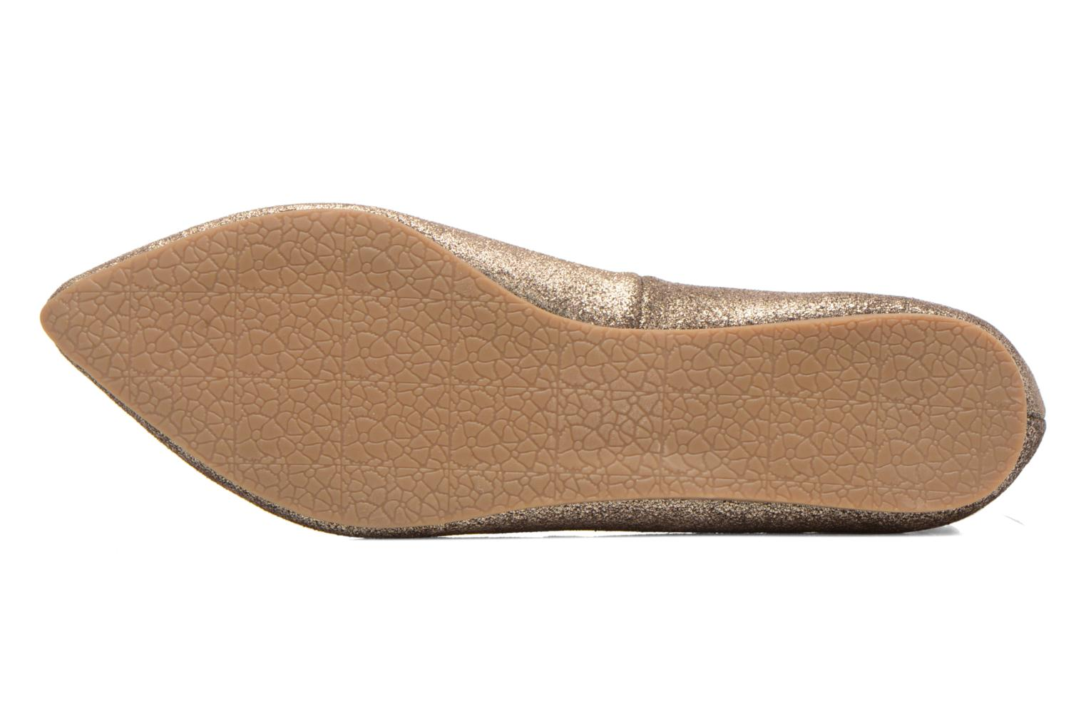 Ballet pumps Steve Madden ELEANORR Bronze and Gold view from above