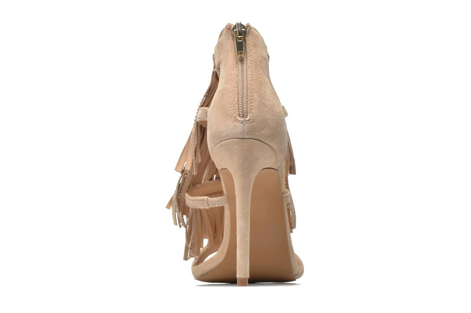 Sandals Steve Madden FRINGLY-R Beige view from the right