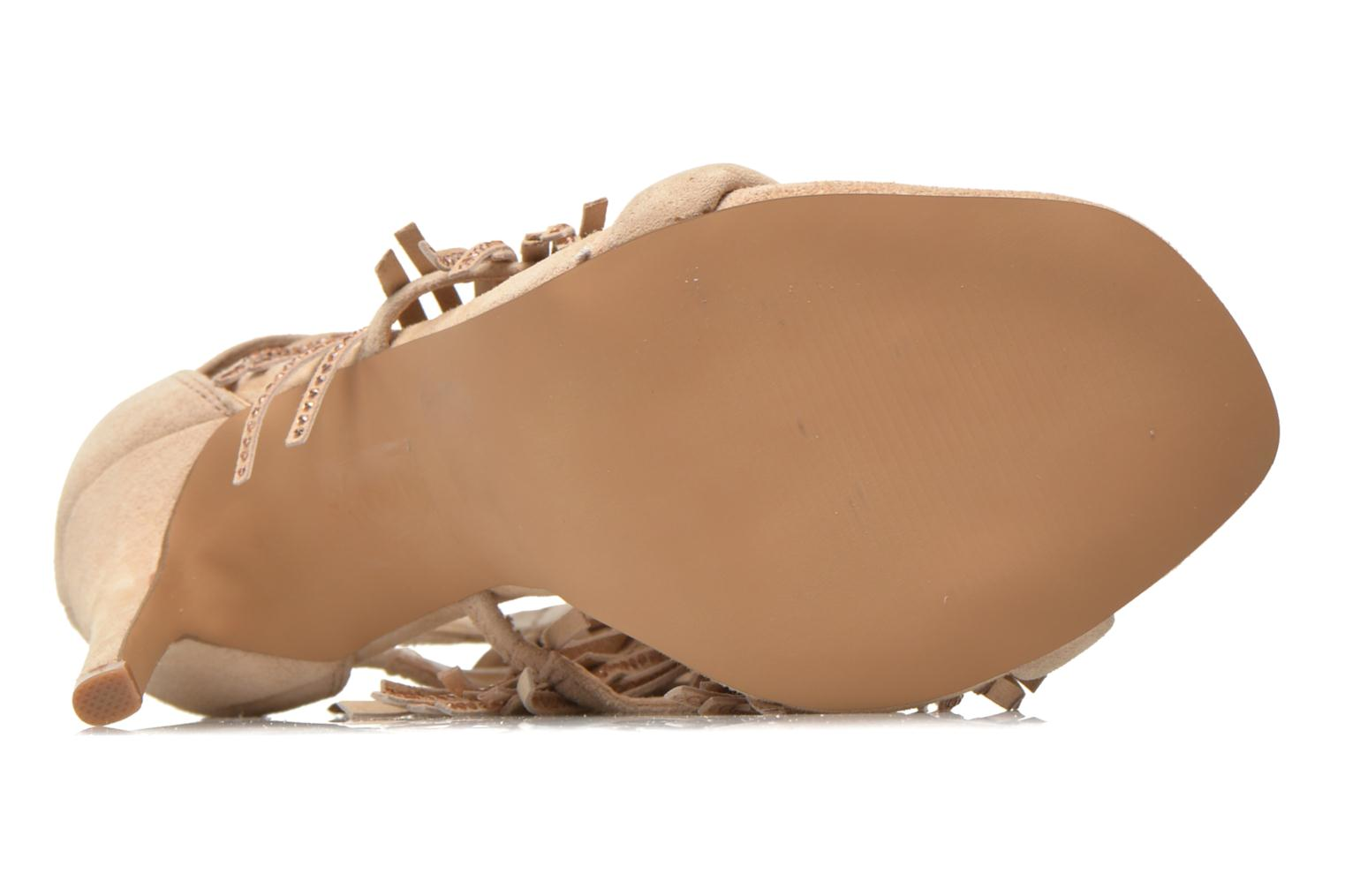 Sandals Steve Madden FRINGLY-R Beige view from above