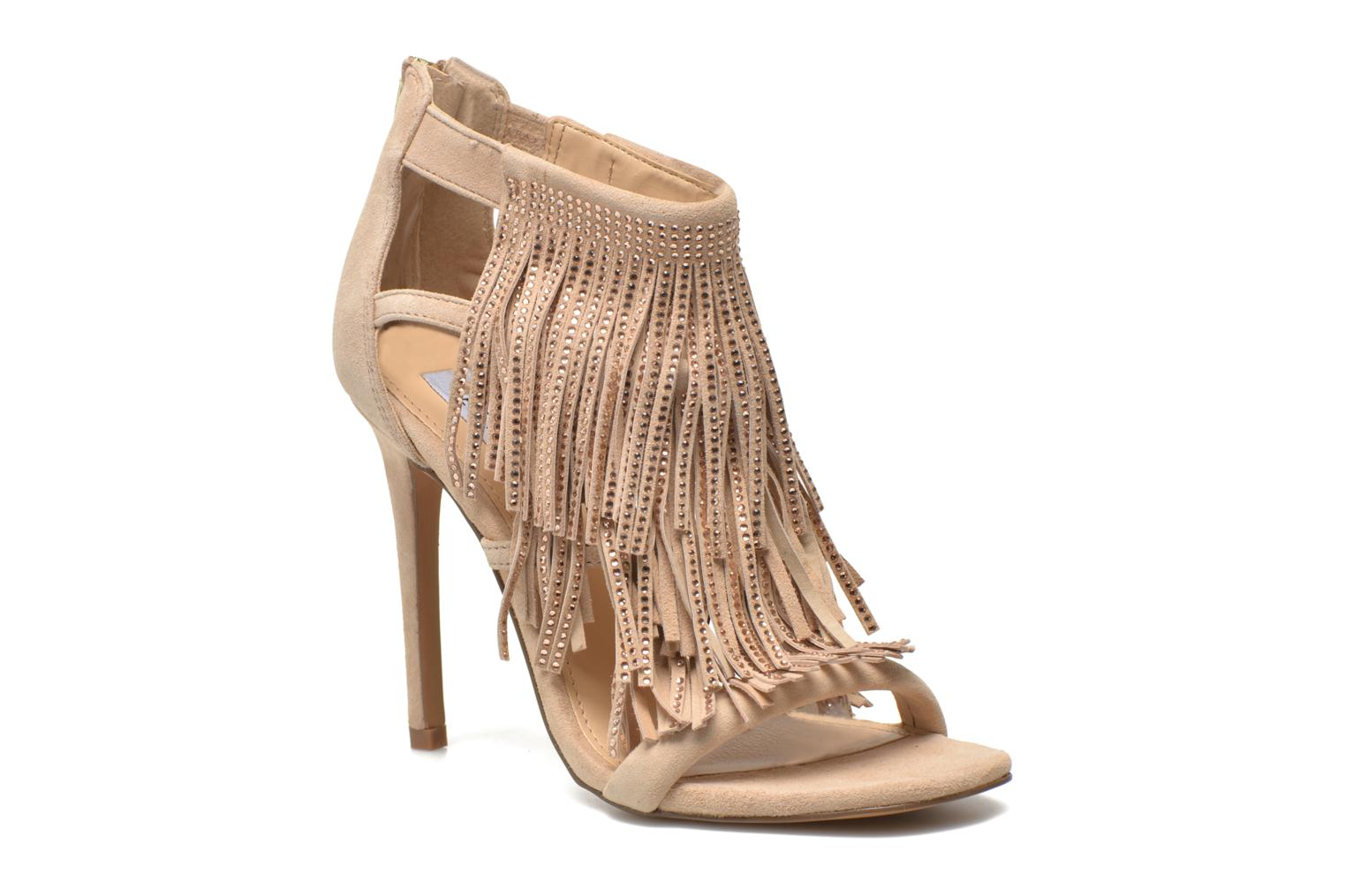 Sandals Steve Madden FRINGLY-R Beige detailed view/ Pair view