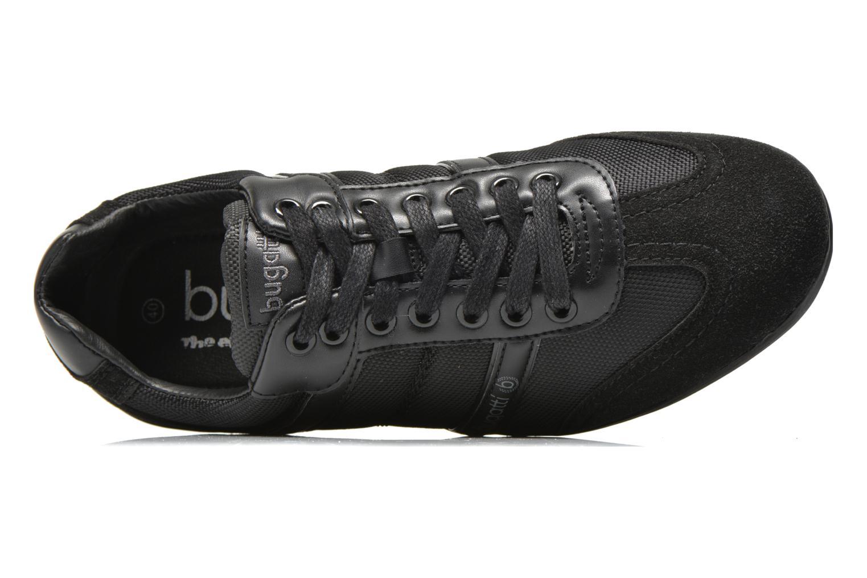Sneaker Bugatti River F4702 schwarz ansicht von links
