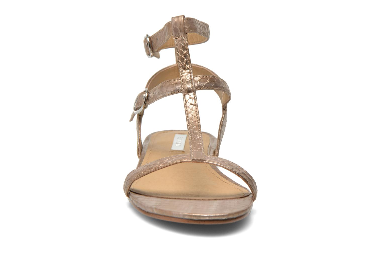 Sandales et nu-pieds Esprit Aely Bis Sandal Or et bronze vue portées chaussures