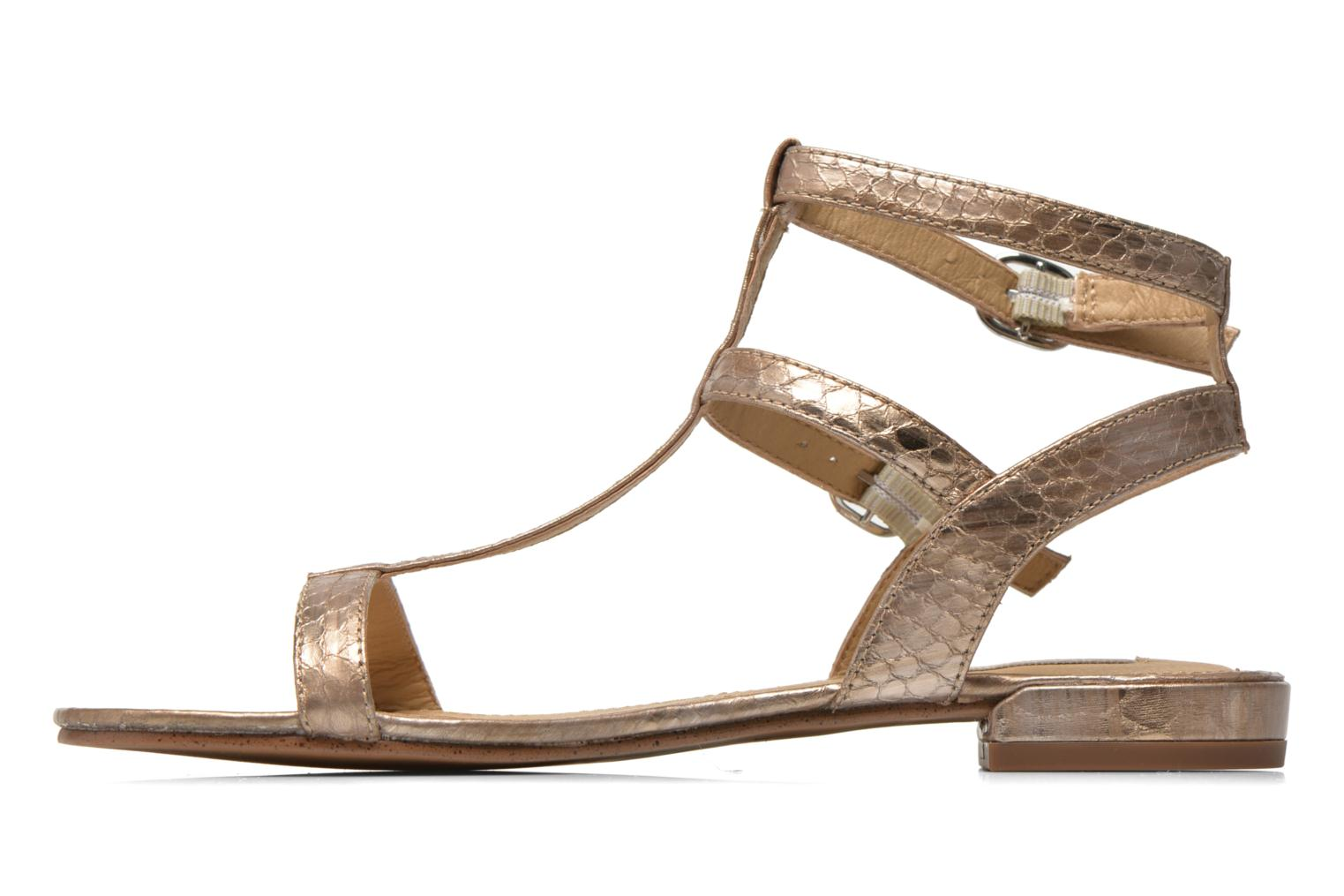 Sandals Esprit Aely Bis Sandal Bronze and Gold front view