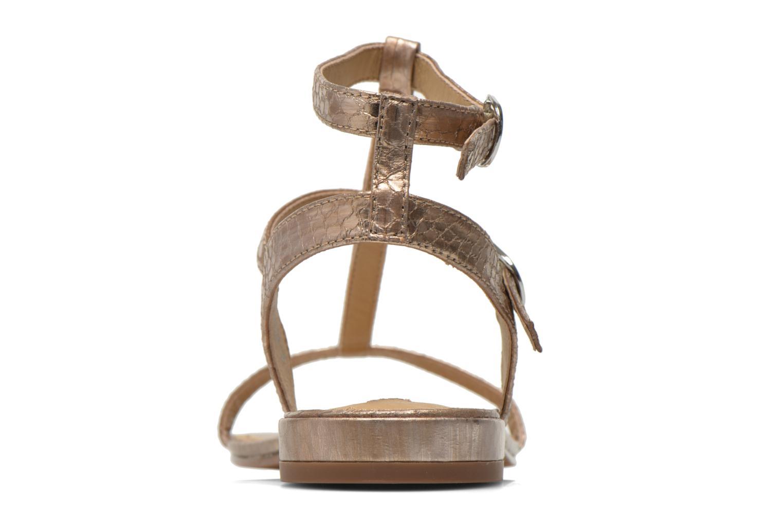 Sandales et nu-pieds Esprit Aely Bis Sandal Or et bronze vue droite