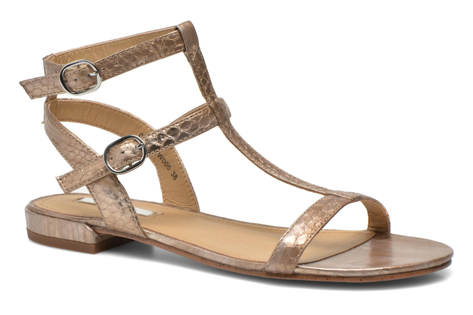 Sandals Esprit Aely Bis Sandal Bronze and Gold detailed view/ Pair view
