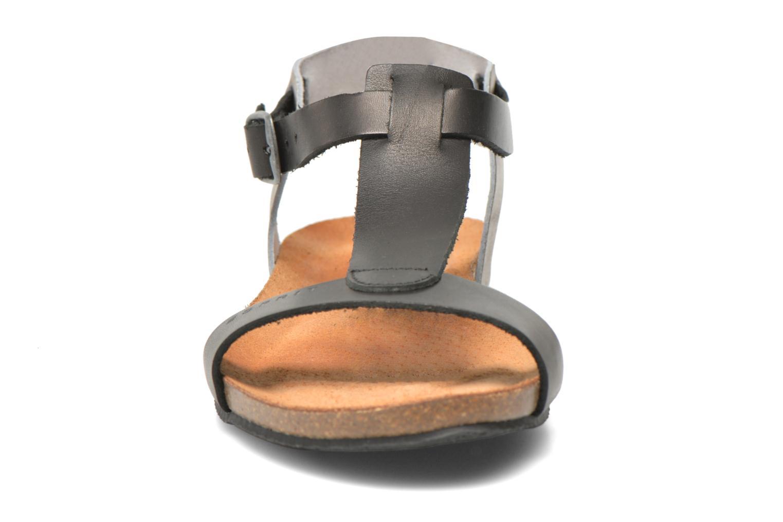 Sandales et nu-pieds Esprit Aisha Sandal 2 Noir vue portées chaussures