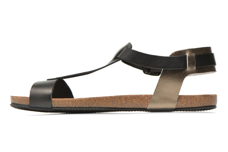 Sandales et nu-pieds Esprit Aisha Sandal 2 Noir vue face