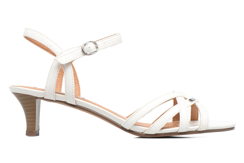 Sandalen Esprit Birkin Sandal weiß ansicht von hinten