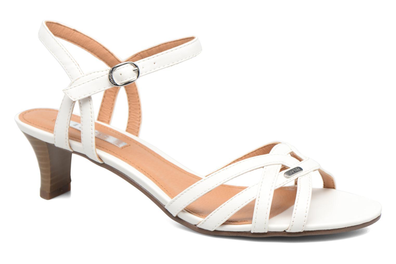 Sandals Esprit Birkin Sandal White detailed view/ Pair view