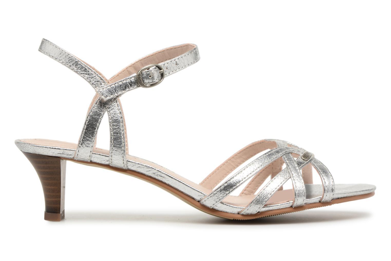 Sandalen Esprit Birkin Sandal silber ansicht von hinten