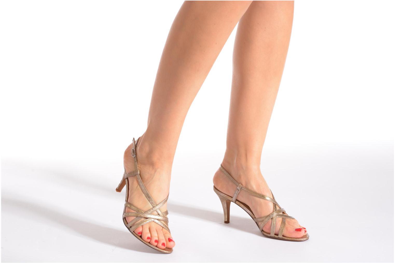 Sandales et nu-pieds Esprit Dor Sandal Or et bronze vue bas / vue portée sac