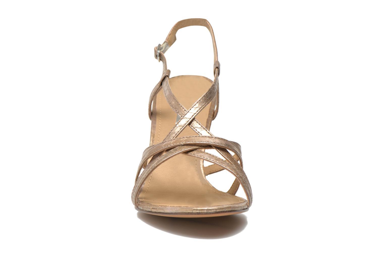 Sandales et nu-pieds Esprit Dor Sandal Or et bronze vue portées chaussures