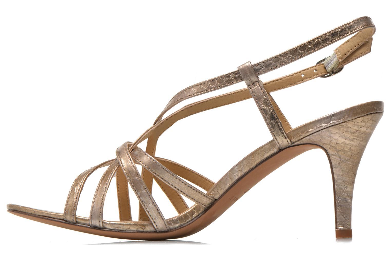 Sandales et nu-pieds Esprit Dor Sandal Or et bronze vue face
