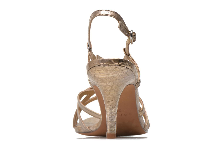 Sandales et nu-pieds Esprit Dor Sandal Or et bronze vue droite