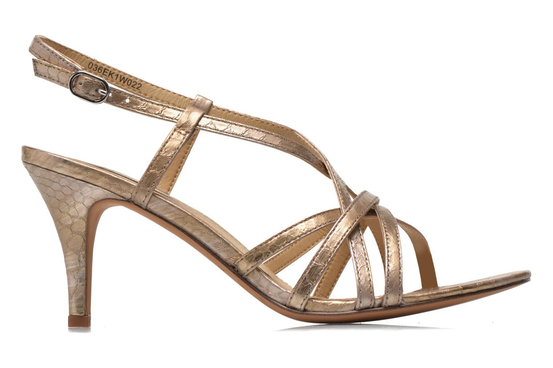 Sandales et nu-pieds Esprit Dor Sandal Or et bronze vue derrière