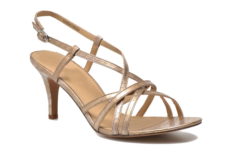 Sandales et nu-pieds Esprit Dor Sandal Or et bronze vue détail/paire