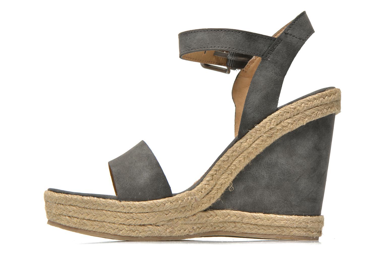 Sandales et nu-pieds Esprit Twiggy Sandal Gris vue face
