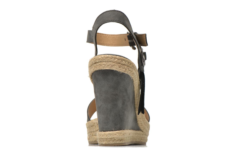 Sandalias Esprit Twiggy Sandal Gris vista lateral derecha