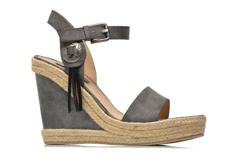 Sandales et nu-pieds Esprit Twiggy Sandal Gris vue derrière