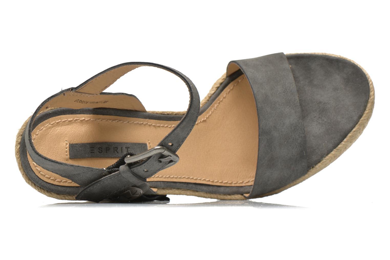 Sandales et nu-pieds Esprit Twiggy Sandal Gris vue gauche