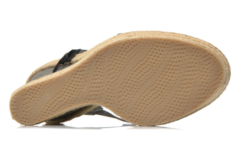 Sandales et nu-pieds Esprit Twiggy Sandal Gris vue haut