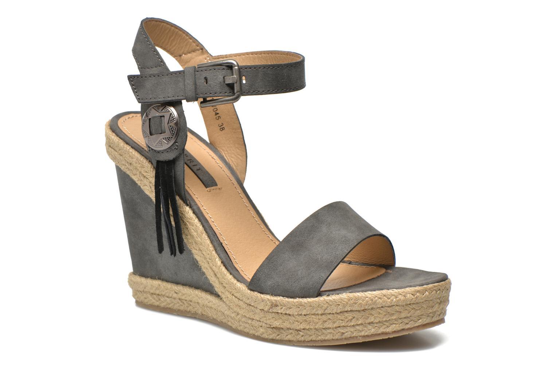 Sandales et nu-pieds Esprit Twiggy Sandal Gris vue détail/paire