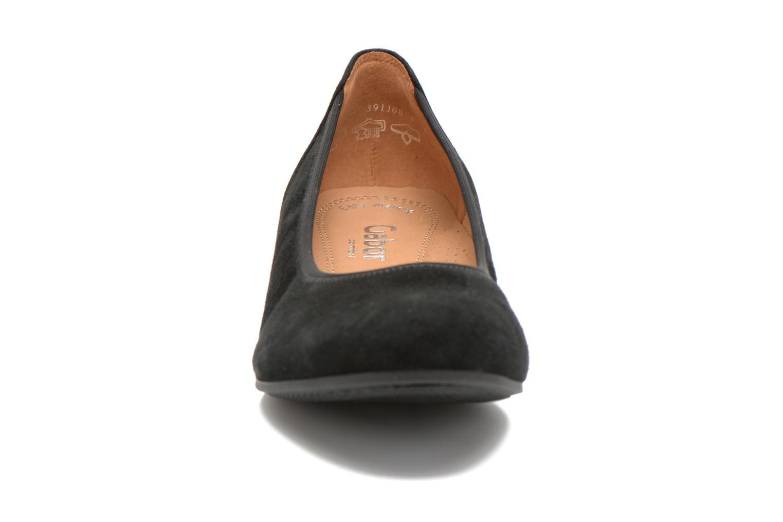 Ballerinas Gabor Vila schwarz schuhe getragen