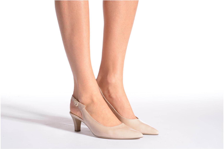 Zapatos de tacón Gabor Liro Negro vista de abajo