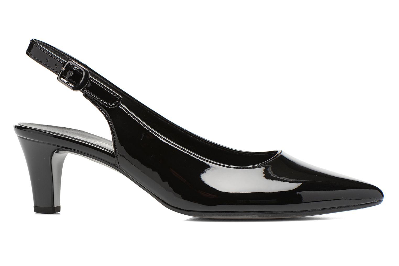 Zapatos de tacón Gabor Liro Negro vistra trasera
