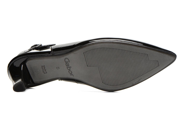 Zapatos de tacón Gabor Liro Negro vista de arriba