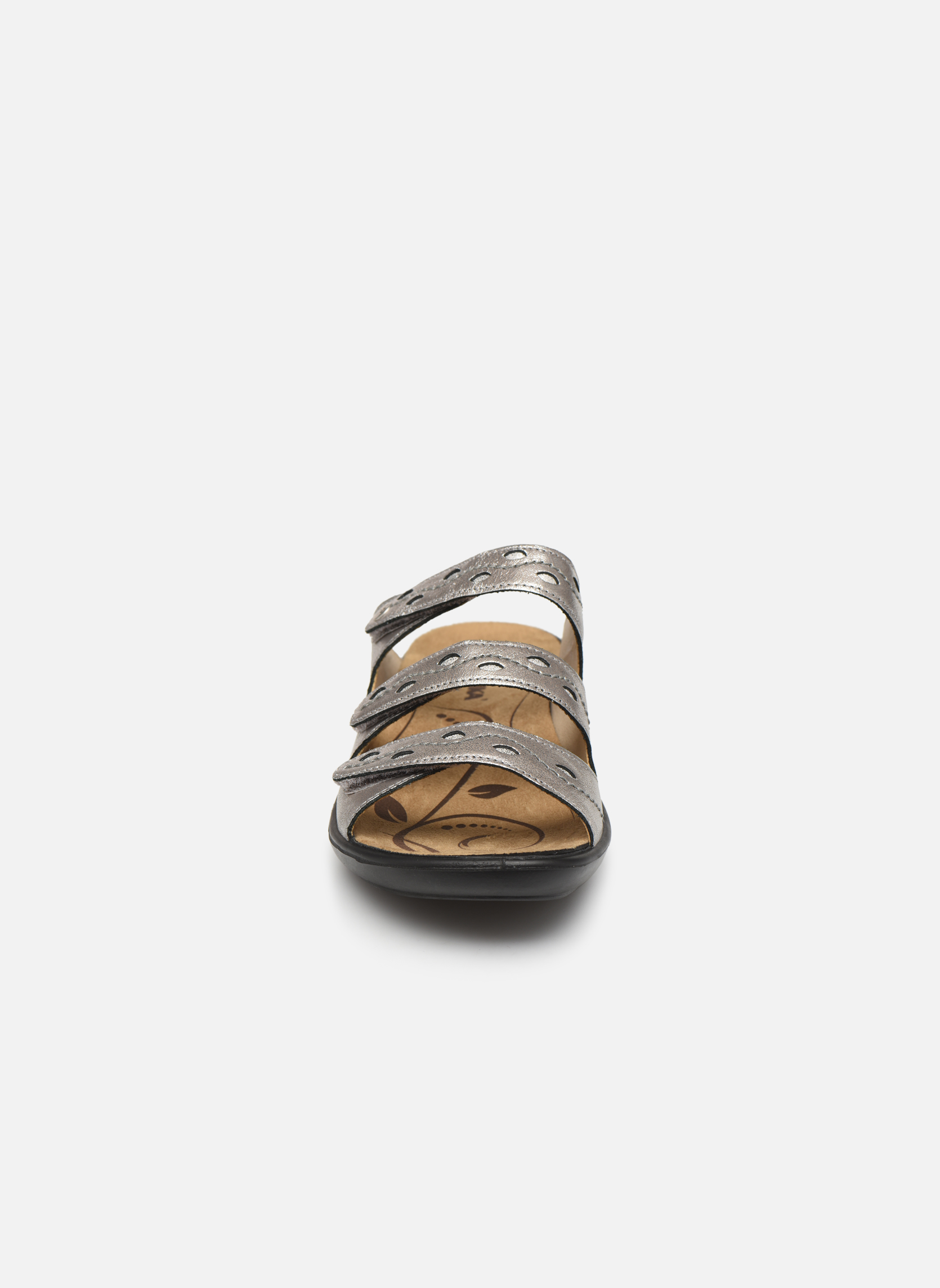 Mules et sabots Romika Ibiza 66 Gris vue portées chaussures