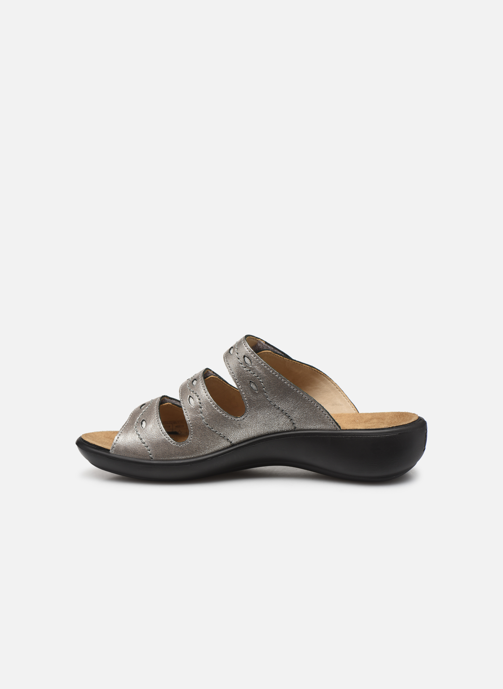 Mules & clogs Romika Ibiza 66 Grey front view