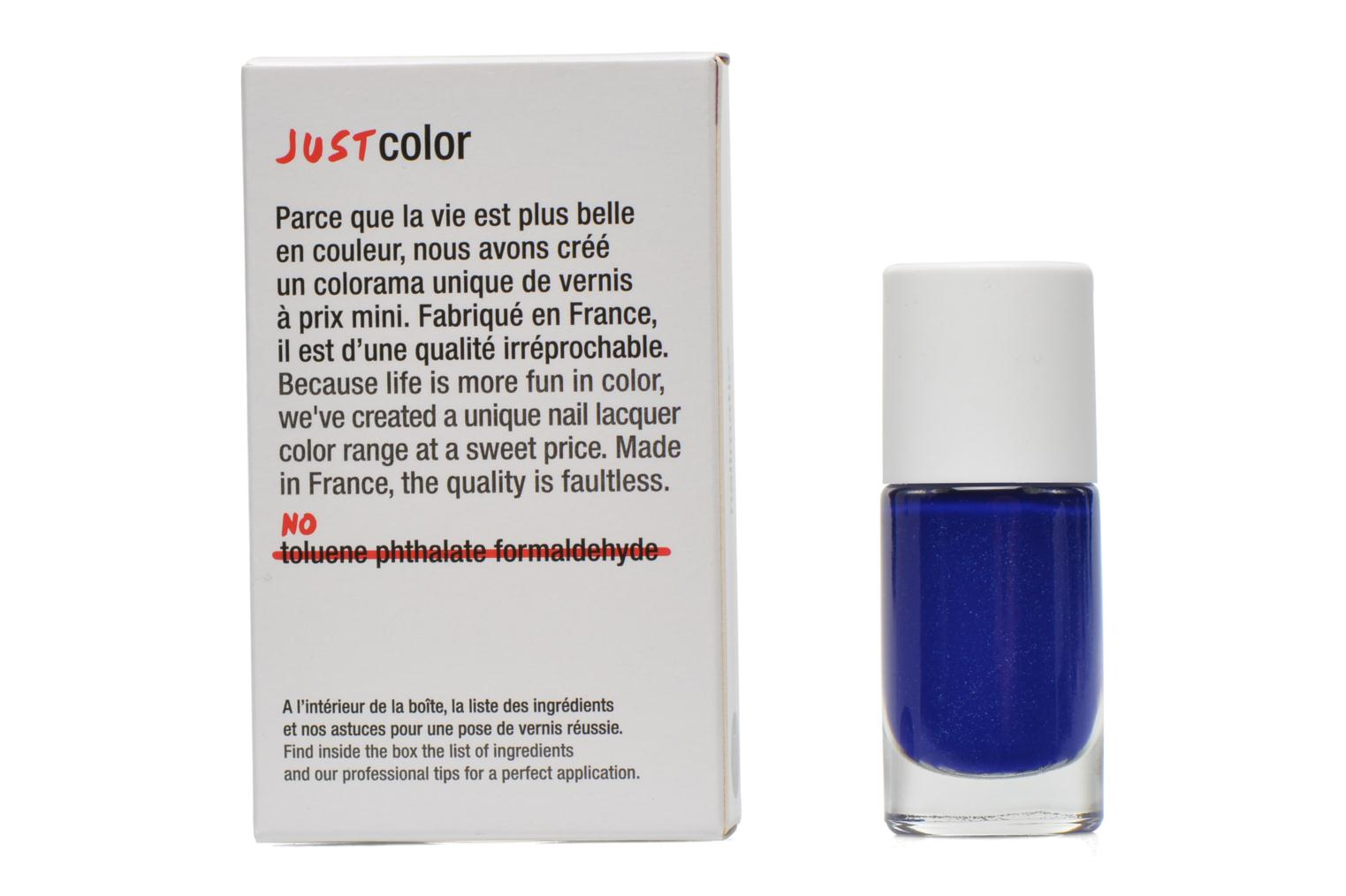 Beauty/foot care Nailmatic Nail varnish Blue front view