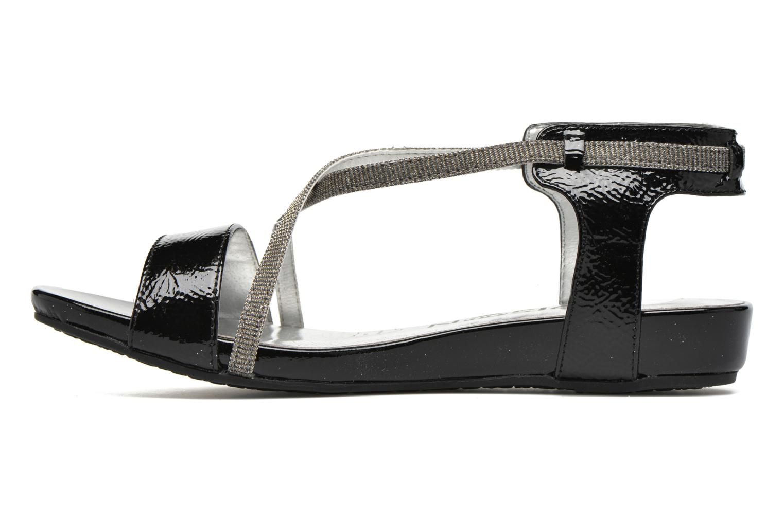 Sandals Madison Emax Black front view