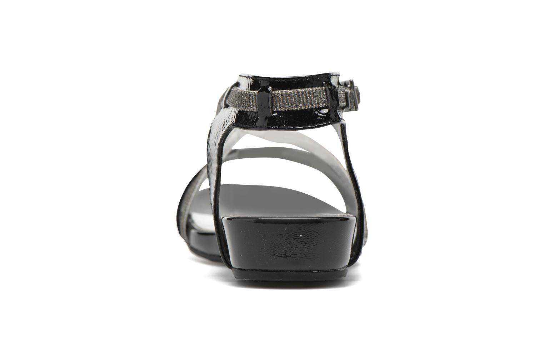 Sandales et nu-pieds Madison Emax Noir vue droite