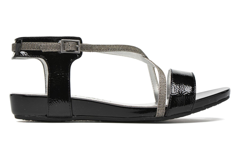 Sandales et nu-pieds Madison Emax Noir vue derrière