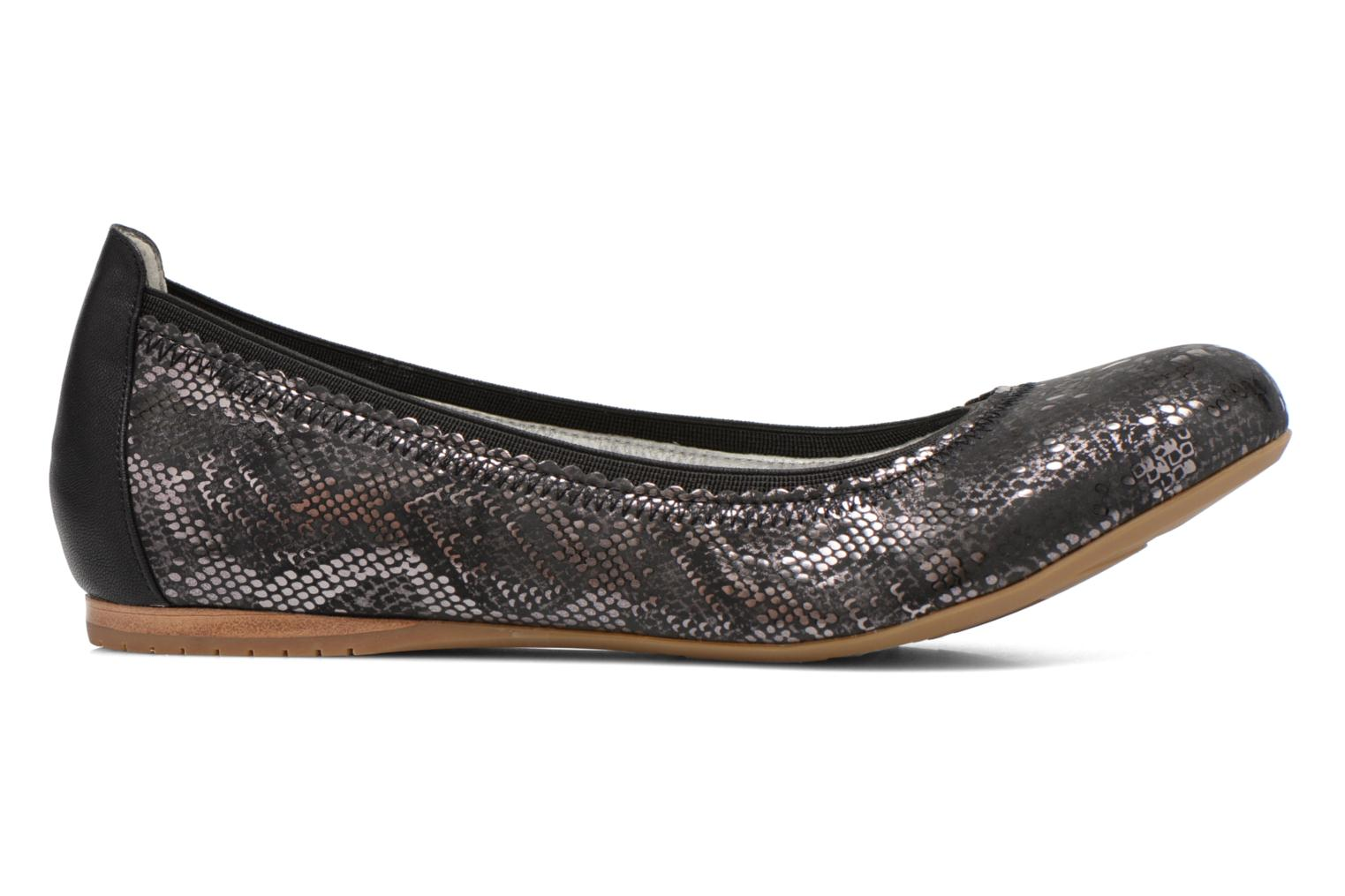 Ballet pumps Madison Claxin Black back view