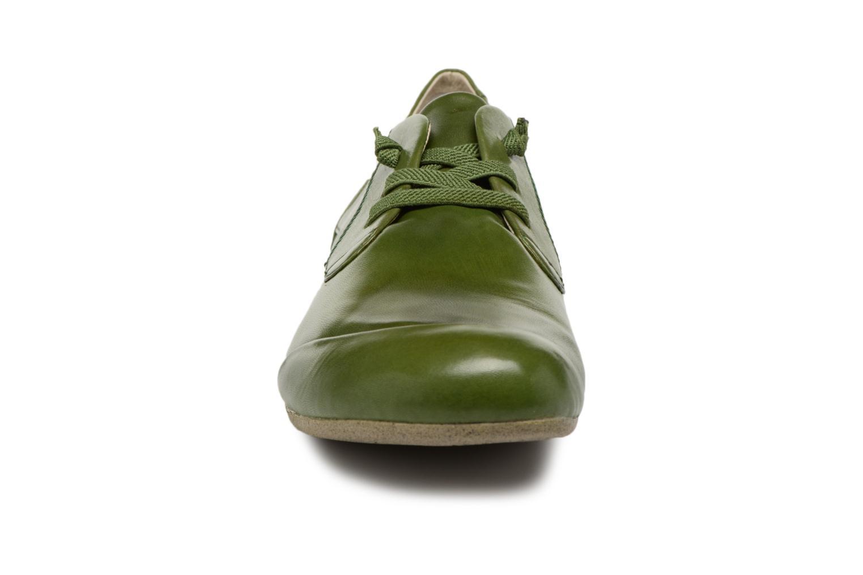 Zapatos con cordones Josef Seibel Fiona 01 Verde vista del modelo