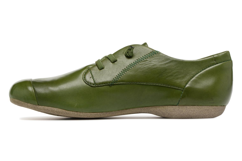 Zapatos con cordones Josef Seibel Fiona 01 Verde vista de frente