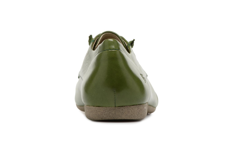 Chaussures à lacets Josef Seibel Fiona 01 Vert vue droite