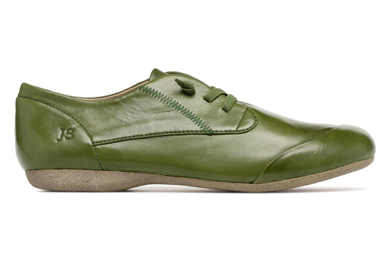 Zapatos con cordones Josef Seibel Fiona 01 Verde vistra trasera