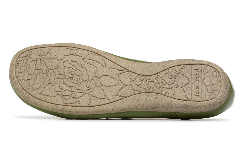 Zapatos con cordones Josef Seibel Fiona 01 Verde vista de arriba